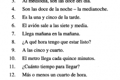 Pimsleur Spanish Lesson 10